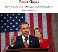 オバマケア演説 20090909