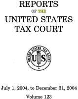 米国租税裁判所レポート 2004 July to Decenber